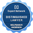 Expert Network | Distinguished Lawyer | Wolfgang R. Anderson