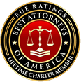 Rue Ratings | Lifetime Charter Member | Best Attorneys of America